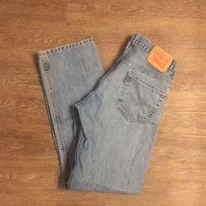 Men's Levi 559 jeans 29x32 loose straight fit